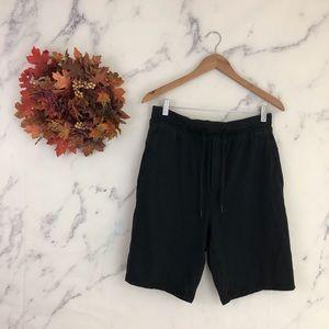 Lululemon Mens Drawstring Waist Sweat Shorts